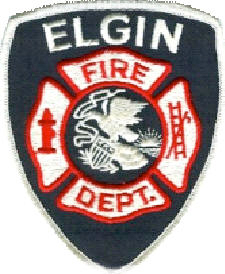 Badge ElginFireDept